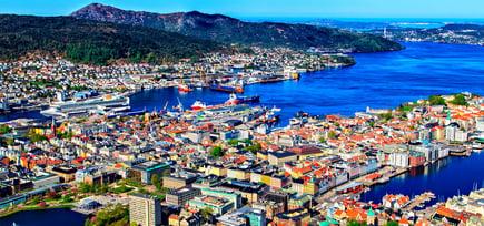 Glassfagkjedens glassmestere i Bergen