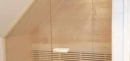 Lag en moderne badstue i glass