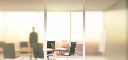 Pilkington ViewControl™ - glasset for de lukkede møtene