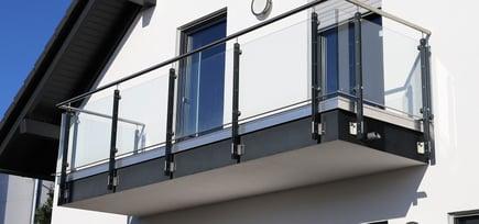 Inspirasjon: balkong i glass