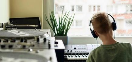 5 ideer når du skal lage musikkrom hjemme