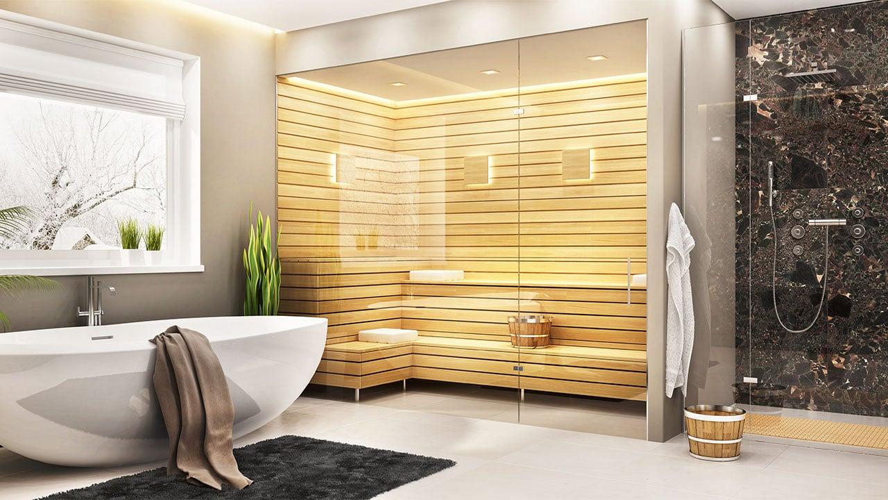 saunabathroom