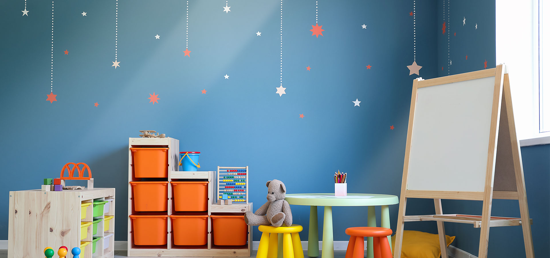 Inspirasjon: Glassvegg på barnerommet