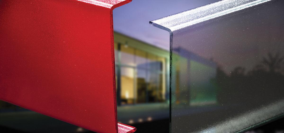 Fasadeglass uten forstyrrende bæreprofiler